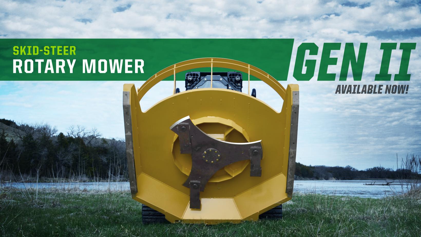 Gen II Skid-Steer Rotary Mower