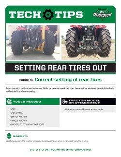 Setting Rear Tires Out - Tech Tips